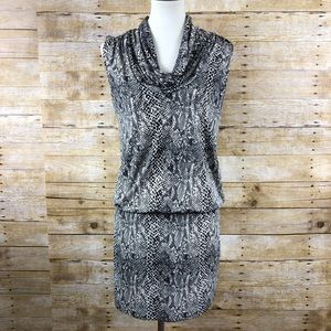 Michael by Michael Kors Snake Print Dress Sz P/M